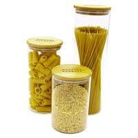 Glass Storage Jars - Pasta Set